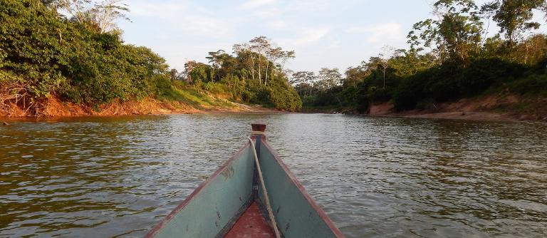 Sur le Canoë en Amazonie