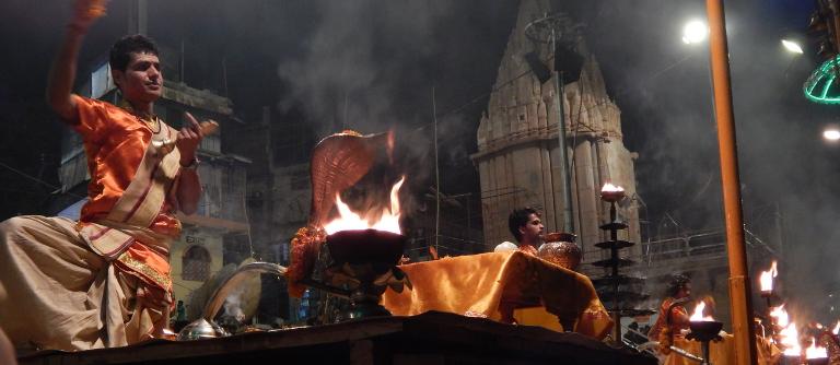 Arati in Varanasi