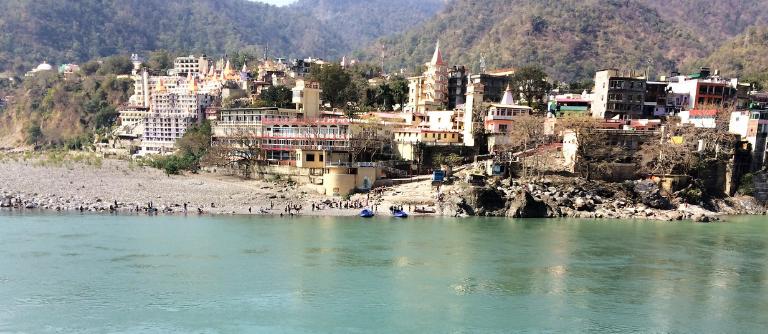 Le Gange à Rishikesh