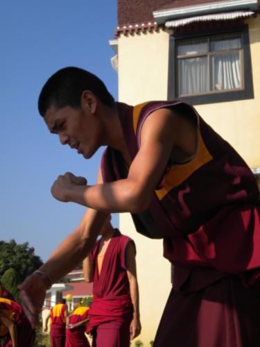 Young Monk in Kopan Monastery, Nepal